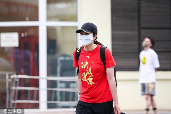 中国跳水队出征东京奥运会