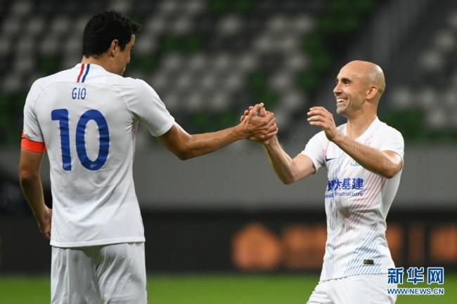 中超:上海申花胜天津津门虎