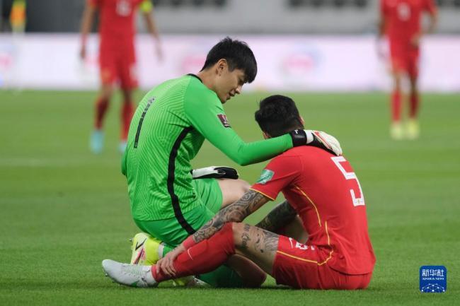 世预赛12强赛:中国队负于日本队