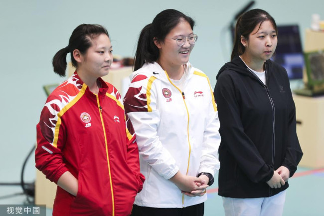 姜冉馨获10米气手枪亚军 两奥运冠军资格赛出局