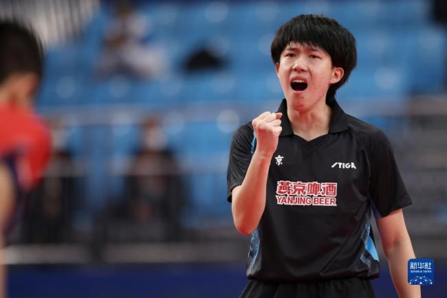 全运会-乒乓球男团:北京队晋级四强