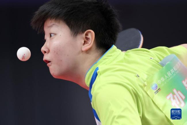 全运会-乒乓球女团:河北队晋级四强