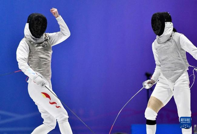 全运会-击剑女子花剑个人赛:石玥夺冠