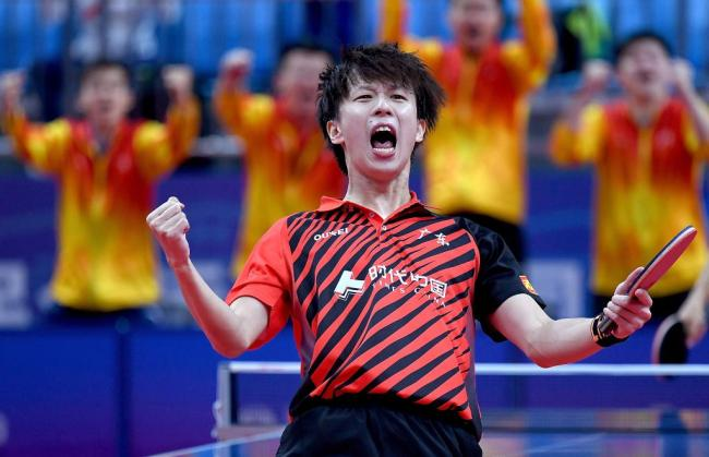 全运会-乒乓球男子团体:广东队胜河北队晋级决赛