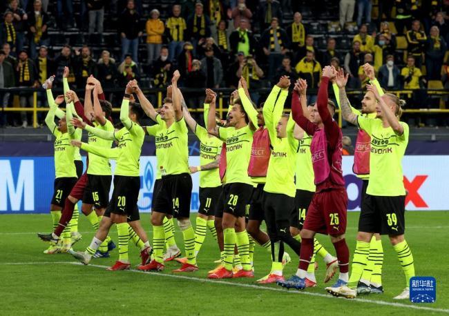 欧冠:多特蒙德胜葡萄牙体育队