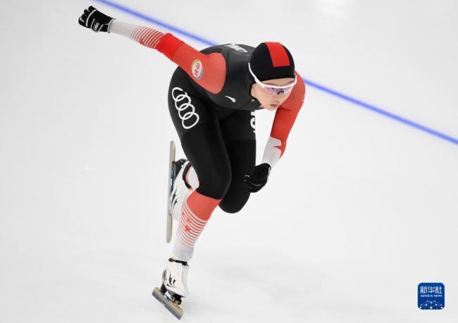 """速度滑冰——""""相约北京""""中国公开赛开赛"""
