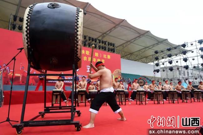 庆丰年!山西举行健身秧歌(鼓)比赛