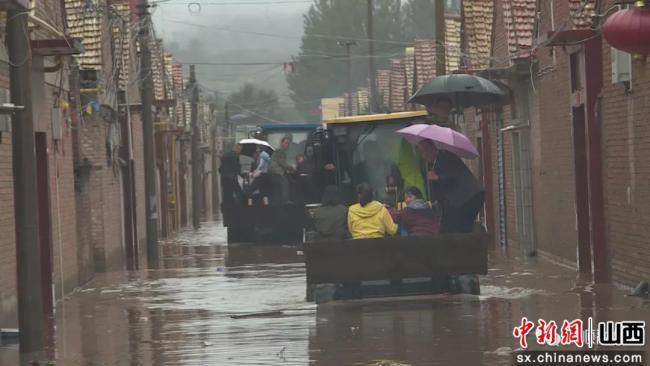 山西和顺县全面做好防汛和排涝工作 守护群众安全