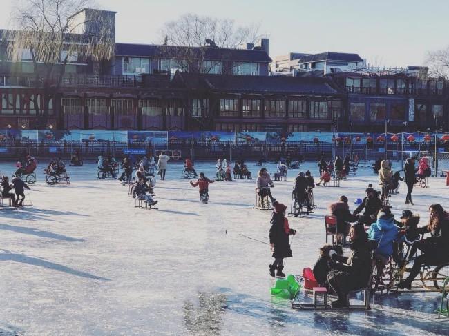 北京最拉风的冬季乐园 大人也能玩得像个孩子