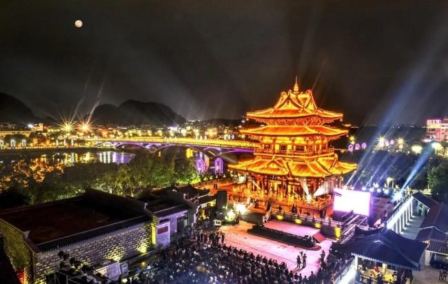 广西桂林发布8条夜游精品线路