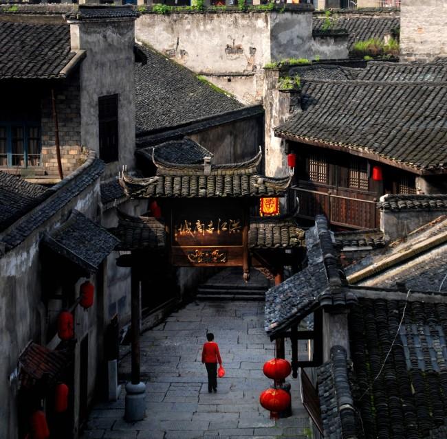 湖南省洪江区古商城小镇:文旅深度融合再现古老商城昔日繁荣