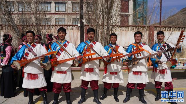 珠峰少年合唱团成员。受访者 供图