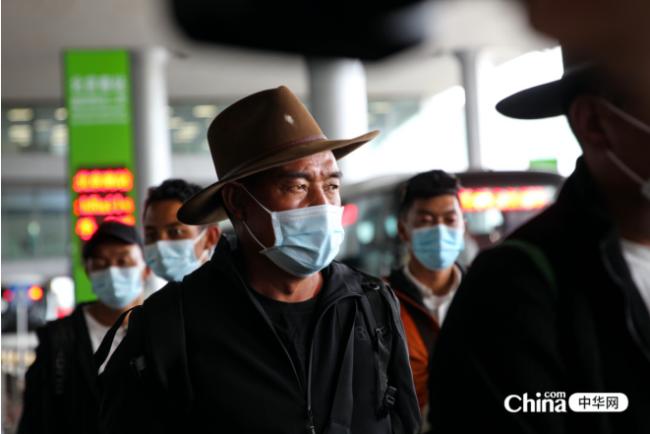 西藏基层干部赴京参观学习班30名学员到达北京