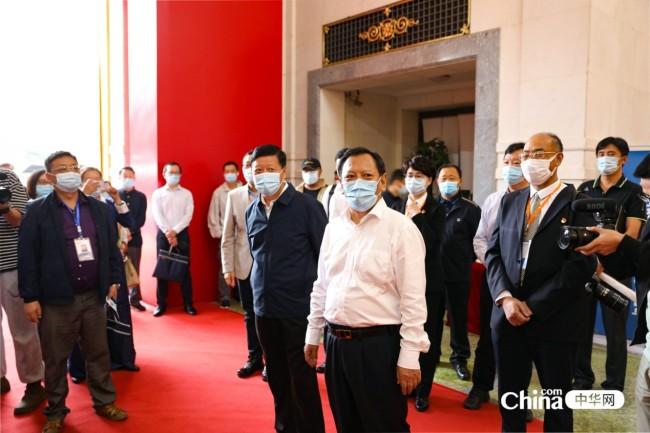 西藏基层干部赴京参观学习班第一期学员参观民族文化宫