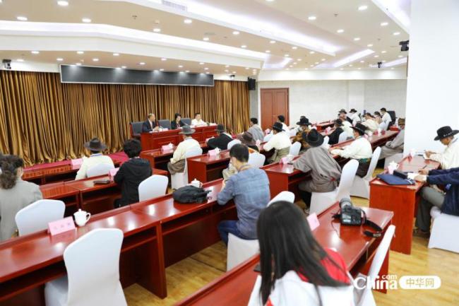 西藏基层干部赴京参观学习班 参加乡村振兴局座谈会