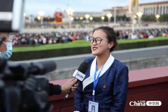 西藏基层干部赴京参观学习班学员观礼升旗仪式、参观国家博物馆