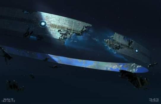 《光环:无限》地图十分广阔 系列最大且自由度最高