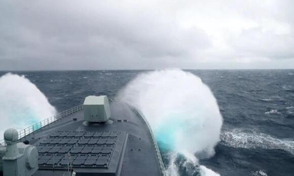 每日军情 055驱逐舰担任海上联合军演指挥舰