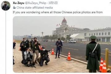 国社记者的揭黑帖 华春莹转了