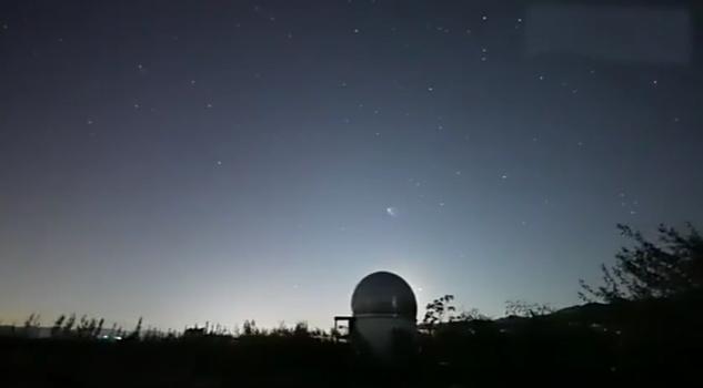 夜空中最亮的星!神十三划过星河场面美极了