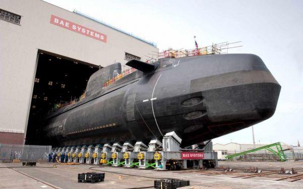 英国斥资1.7亿英镑打造新一代攻击型核潜艇