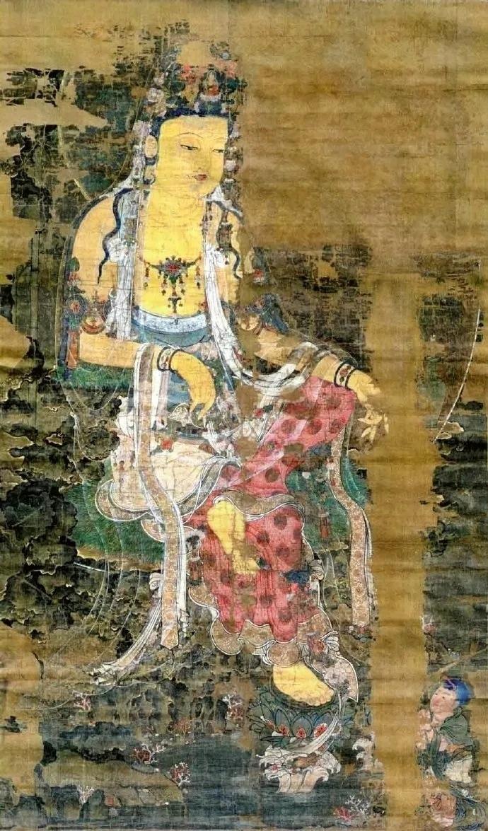高丽水月观音菩萨像