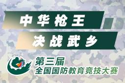 第三届全国国防教育竞技大赛