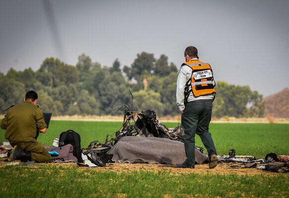 以色列2名飞行员坠亡