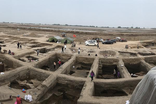 山东发现156座连片汉墓