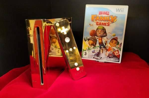 24K镀金任天堂Wii被出售 曾准备送英女王