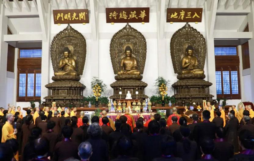 浙江佛学院暑假开展为期21天华严共修活动