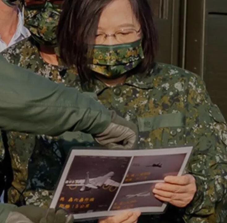 台军跟踪解放军军机画面意外曝光!