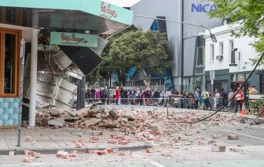 澳大利亚发生5.9级地震